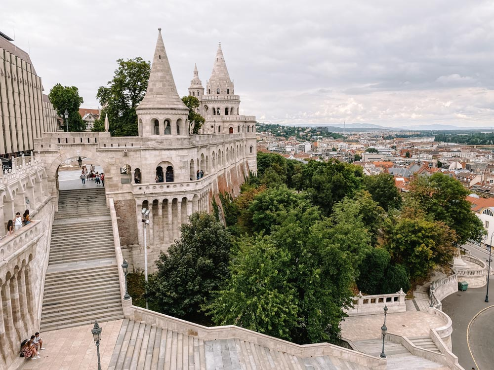 Budapest Sehenswürdigkeiten Tipps Fischerbastei Aussichtspunkt